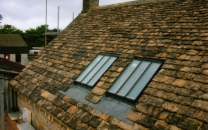 Cotswold stone roof repairs, Cirencester, Glos