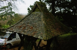 Church porch roof repairs, Wiltshire company