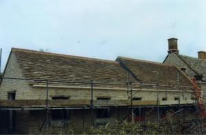 New tiled barn roof, Fairford roof tiling, roofing company near Fairford Wilts
