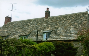 Cotswold stone tile roof, roofers near Cirencester Glos